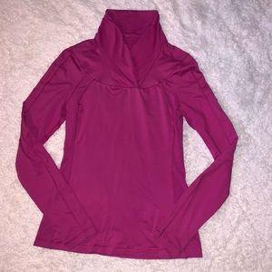 Size 8 Lululemon trail tech long sleeved top